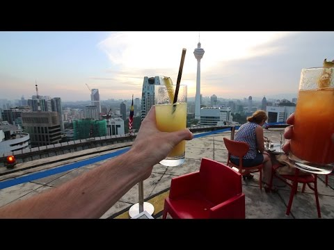 HELIPAD ROOFTOP DRINKS!