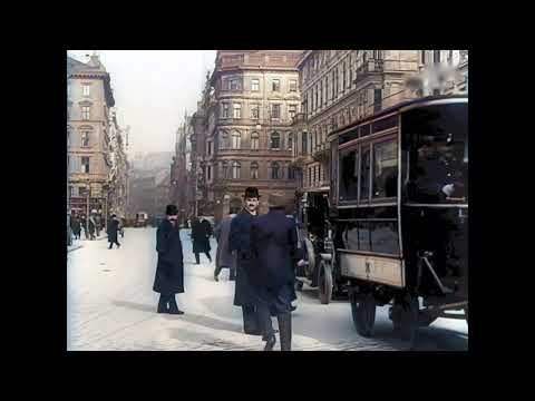 Fabulous Vienna (Wien) Between Ca. 1905 And 1915 In Color! [A.I. Enhanced \u0026 Colorized]