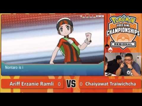 AeZ @ 2016 Pokémon  VGC Malaysia Regionals Round 03 - Vs. Chaiyawat Traiwichcha