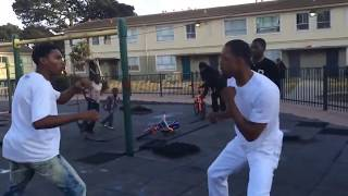 Fight In Hood Playground!