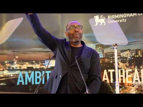 Birmingham City University, Sir Lenny Henry speech.
