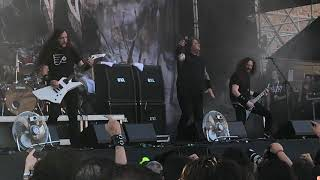 "Exodus ""Funeral Hymn & Bood In, Bood Out"" - Live @ Rock The Castle Villafranca Verona 30.06.2018"