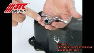 JTC 4494 Набор инструментов для восстановления маслосливных отверстий JTC