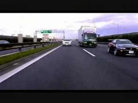 R34 GTR doing 300kph on public highway