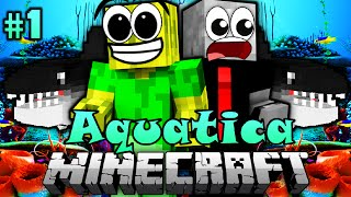 2 DUSSEL im OZEAN!! - Minecraft Aquatica #01 [Deutsch/HD]