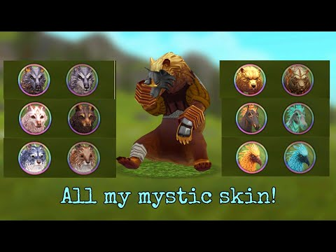 WildCraft: I'll Show You All The Mystic Skins!