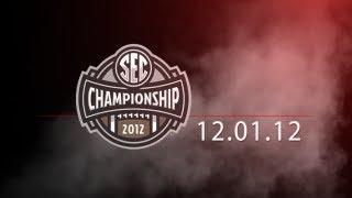 SEC Championship 2012: Alabama vs. Georgia