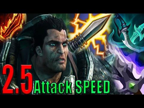 Legendary 2.5 Attack SPEED Darius Is BACK (LoL Gagsbenn)