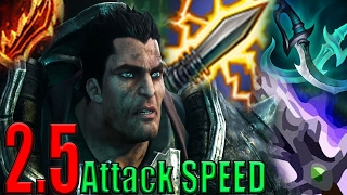 Legendary 2.5 Attack SPEED Darius is BACK (LoL Gagsbenn)