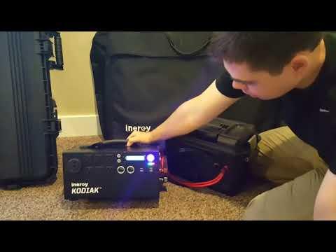 Kodiak Portable Solar Generator by Inergy Solar -- 1 Year Full Review