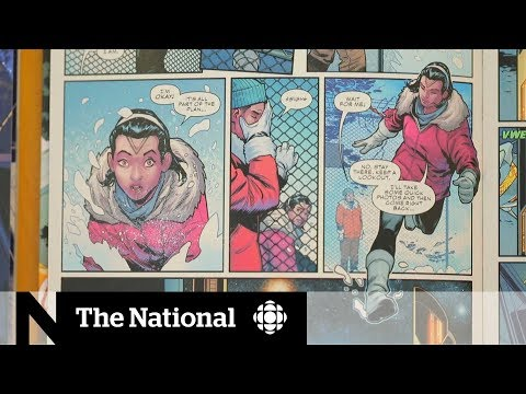 CBC News: The National: Marvel's newest superhero Snowguard is an Inuit teen