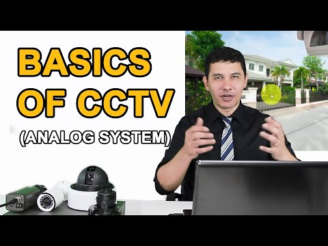 CCTV Training - Basic Analog Systems (Updated 2019)