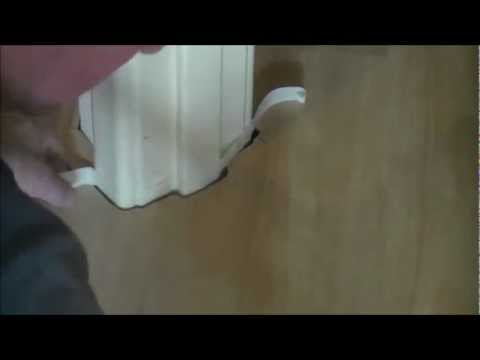 How To Fit Laminate Flooring Filling Expansion E Around Door Frames