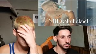 Maria Becerra - MI DEBILIDAD (Official Video) (Reaccion)
