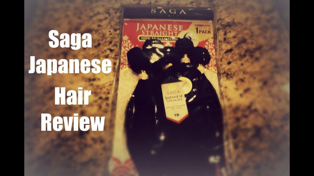 saga japanese straight hair
