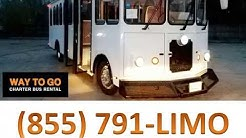 Trolley Rental Chicago - Trolley Tours - Way To Go Limousine 855.791.5466