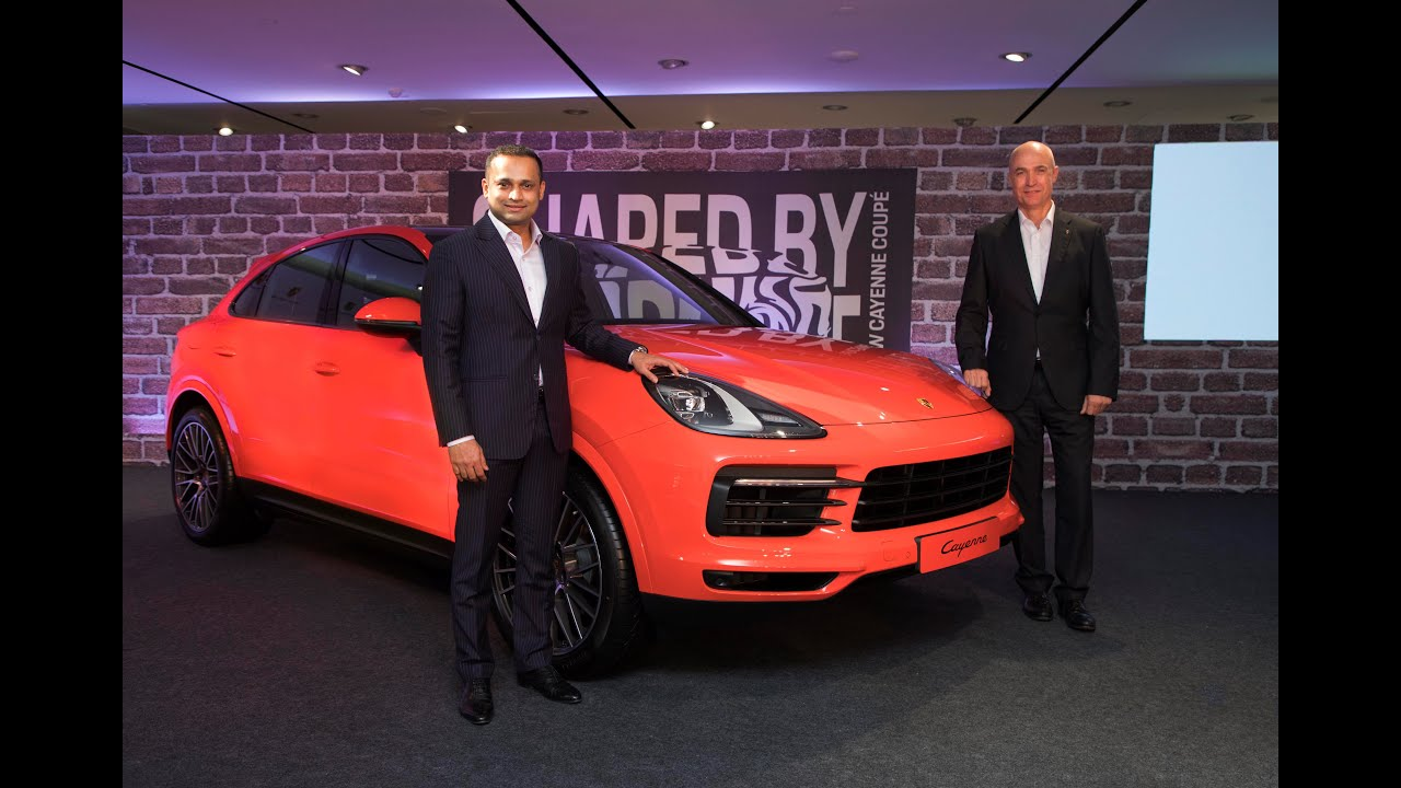 2020 Porsche Cayenne Coupe Launched In India