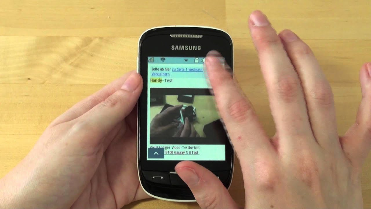 Samsung S3850 Corby II Applications Free Download
