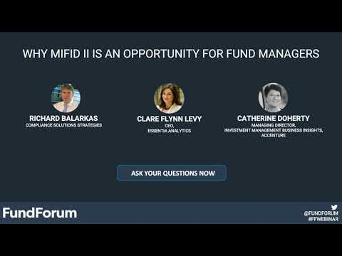 Why MiFID 2 is an opportunity for fund managers