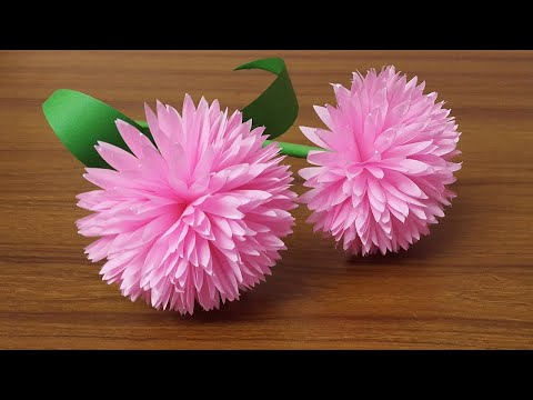 Easy and Beautiful Paper Flowers | Paper Craft | DIY Home Decor