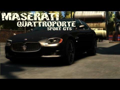 GTA 4 - MASERATI QUATTROPORTE SPORT GTS