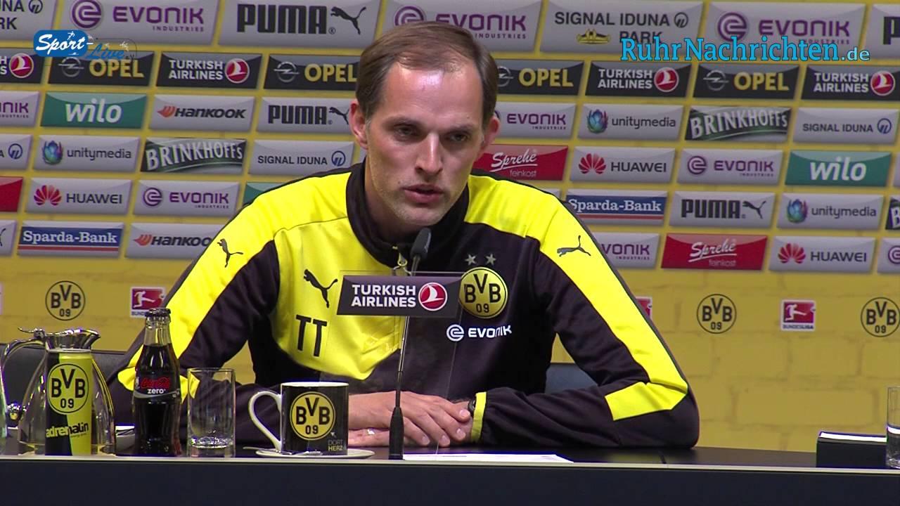 Pressekonferenz BVB - 1.FC Köln