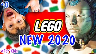 Играем в Лего С РОБОТОМ СТЕФО и СТЕФАНОМ | Как Робот Играет В Лего Распаковка Lego 2020