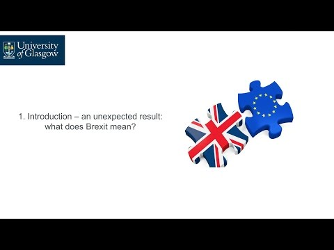 Brexit and the future of the Scottish & UK economy