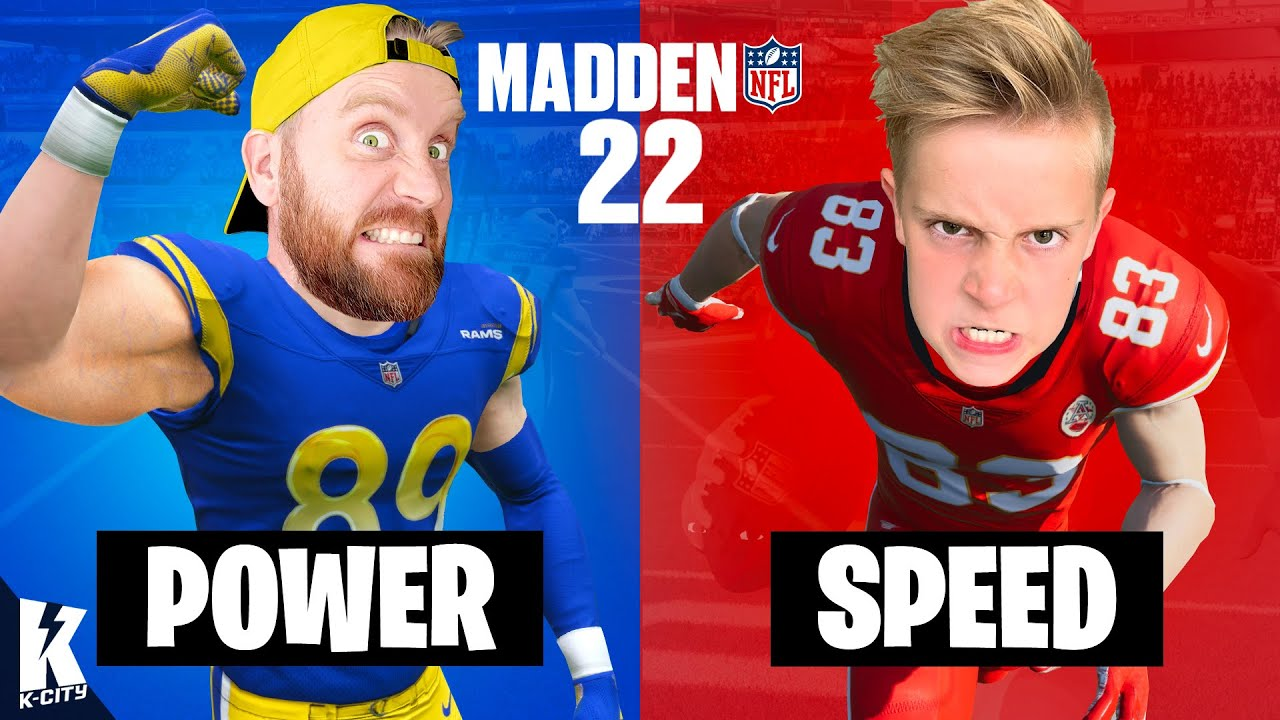 Strongest Team vs Fastest Challenge in Madden NFL 22! K-City