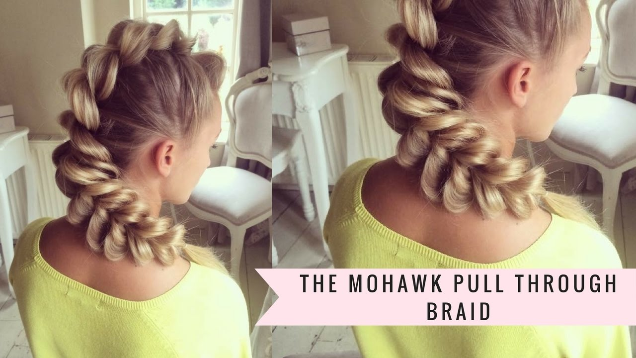 Mohawk Pull-Through Braid by SweetHearts Hair - YouTube