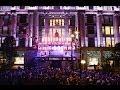 Oxford Street Christmas Lights Show at Selfridges 2013