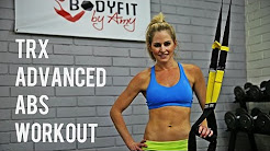 12 Minute TRX Advanced Abs Workout for Strong Abs and A Sculpted Core
