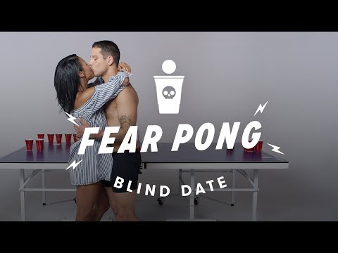Blind Dates Play Fear Pong (Ella vs. Carlos) | Fear Pong | C