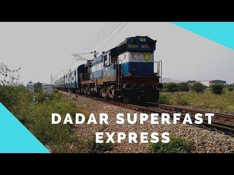 22630 Tirunelveli - Dadar Superfast Express | HIGH Speed Blast with Diesel WDP ALCO's