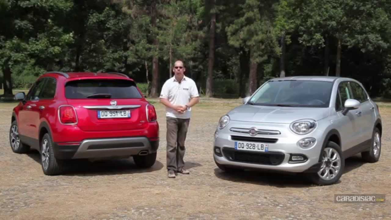 A l 39 int rieur de la fiat 500 x youtube for Fiat 500 x interieur