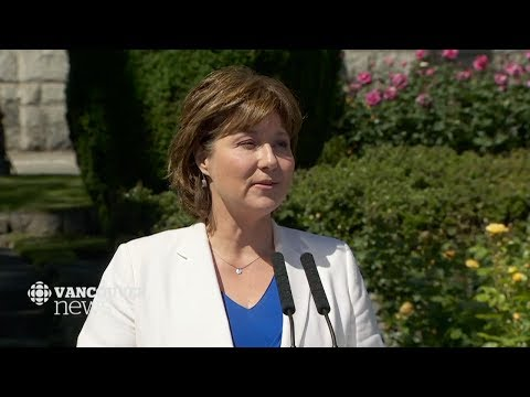 How cynical can you get? Premier Christy Clark