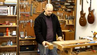 Building a Luthiers Workbench 1 - The design and intent
