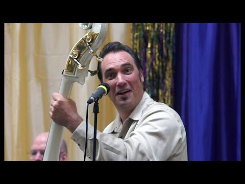 Bill Haley's ROCK AROUND THE CLOCK by Gino and the Lone Gunman at 2018 Fresno Sounds of Mardi Gras