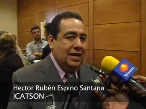 Hector Rubén Espino Santana . ICATSON