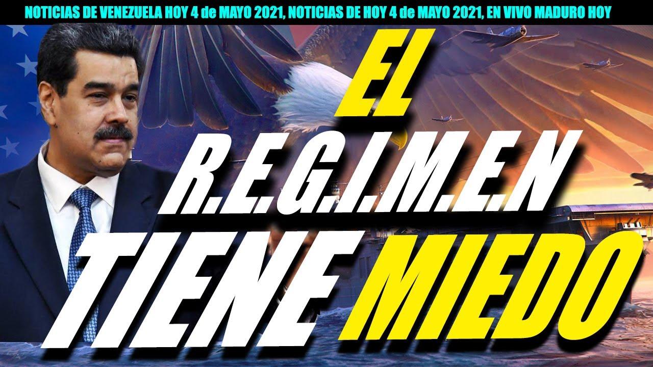 NOTICIAS DE VENEZUELA HOY 4 de MAYO 2021, NOTICIAS DE HOY 4 de MAYO 2021, EN VIVO MADURO HOY