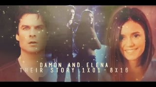 Their story of Damon and Elena [1x01-8x16]