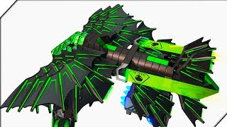 САМОЛЕТ БЕТМЕНА - Игра ROBOCRAFT. Создай своего робота в РОБОКРАФТ