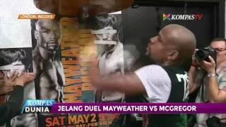 jelang duel mayweather vs mcgregor