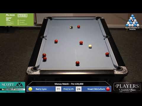 Money Match - Barry Lynn V Stuart McCulloch Conclusion