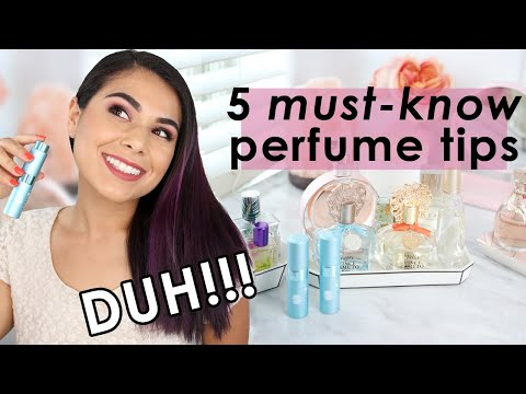 How to Choose Perfume: MUST-KNOW Perfume Tips for Beginners - YouTube