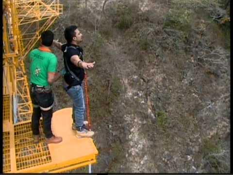 Pratik Agrawal Bungee Jump @ Jumping Heights, Rishikesh