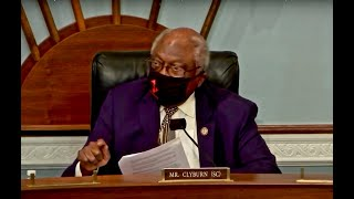 Clyburn Say's He'll End In-Person Hearings If Republicans Won't Wear Masks