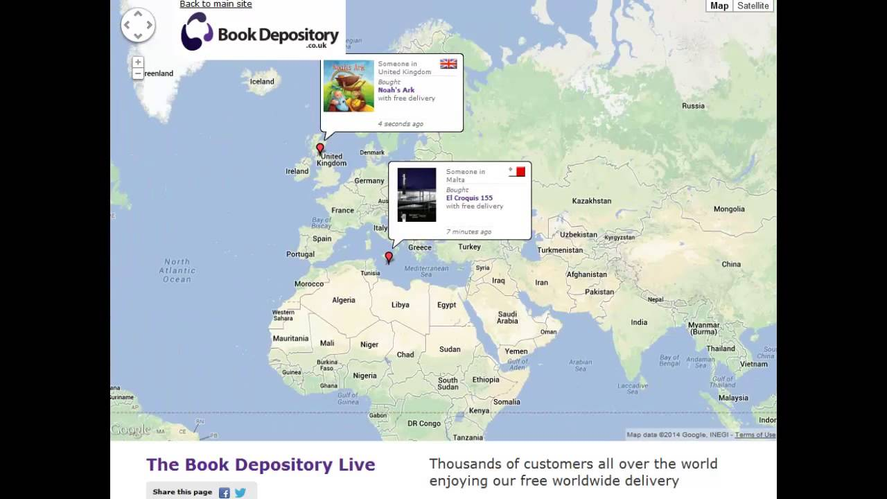 Book depository watch people shop youtube book depository watch people shop gumiabroncs Gallery