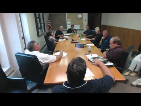 Heath Streets, Parks & Finance meeting.  7-20-15
