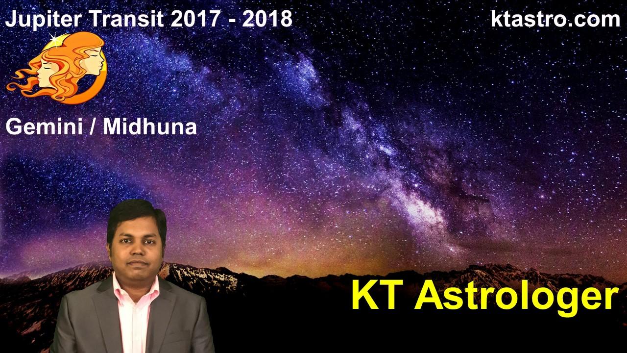 Jupiter transit 2017 2018 for gemini midhuna rasi guru peyarchi gochar